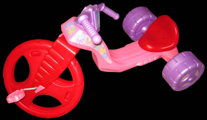 Barbie Big Wheel
